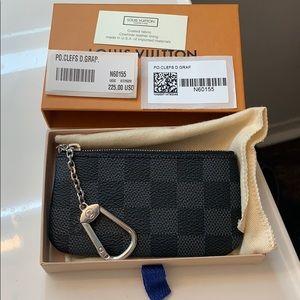 Authentic LV key pouch